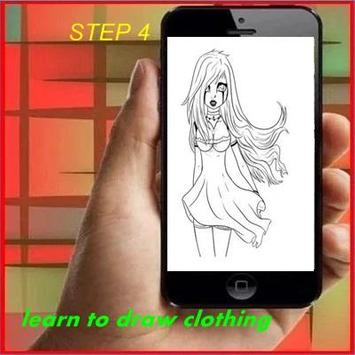Learn to Draw Clothing apk screenshot