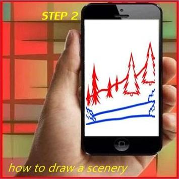 How to Draw a Scenery apk screenshot