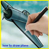 How to Draw Plane icon