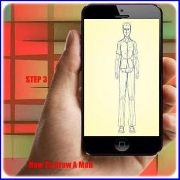 How to Draw a Man apk screenshot