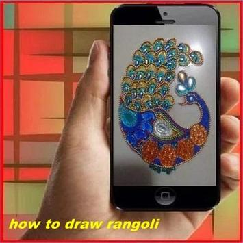 How to Draw Rangoli poster