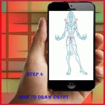How To Draw Egypt King apk screenshot