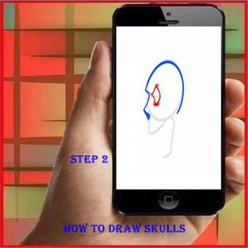 How to Draw a Skull apk screenshot