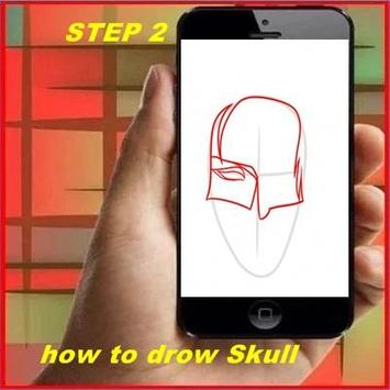How to Draw a Skull screenshot 1