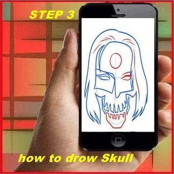 How to Draw a Skull screenshot 2