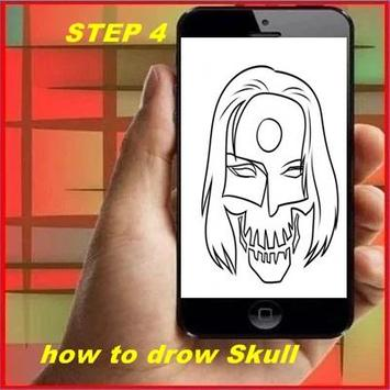How to Draw a Skull screenshot 3