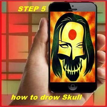 How to Draw a Skull screenshot 4