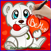 How to Draw Valentines icon