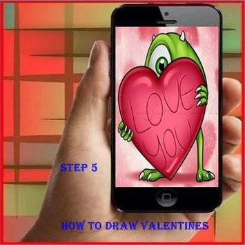 How to Draw Valentines apk screenshot