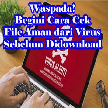 Cara Cek File Aman Dari Virus Sebelum Di Download screenshot 1