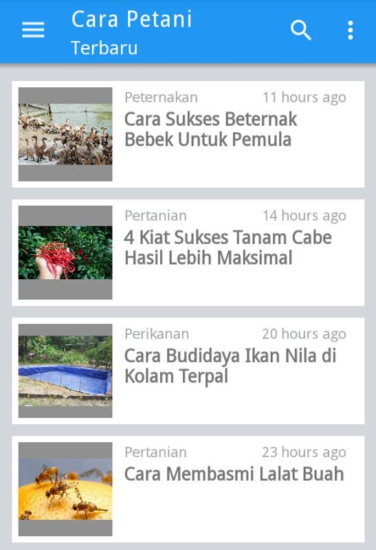 Cara Petani Info Pertanian For Android Apk Download