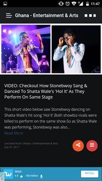 Afro News - All Your Local News Feeds apk screenshot