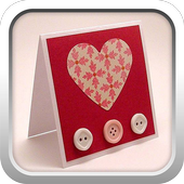 Card for Valentine icon