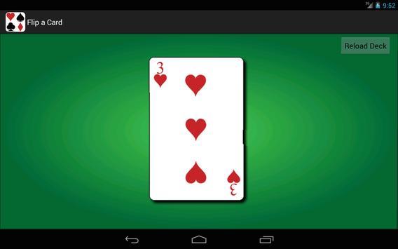 Flip A Card apk screenshot