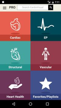 CardioVisual: Heart Health Built by Cardiologists poster