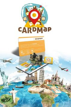 CardMap, tourist guides & WOW! poster