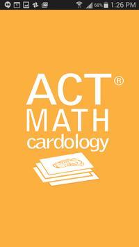 ACT Math Cardology poster