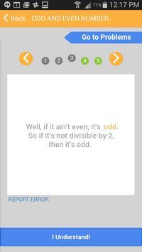 ACT Math Cardology apk screenshot