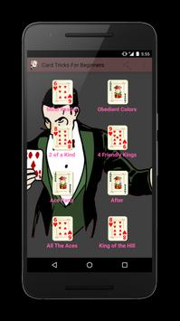 Card Tricks For Beginners poster