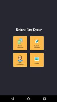 Business card creator apk download free art design app for business card creator poster business card creator apk screenshot reheart Choice Image