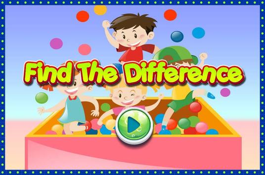 Find The Difference Kids poster