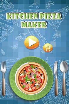 Kitchen Pizza Maker kids Game poster