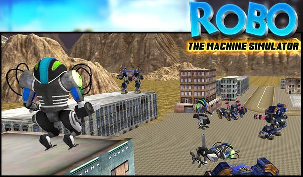 ROBO The Machine Simulator apk screenshot