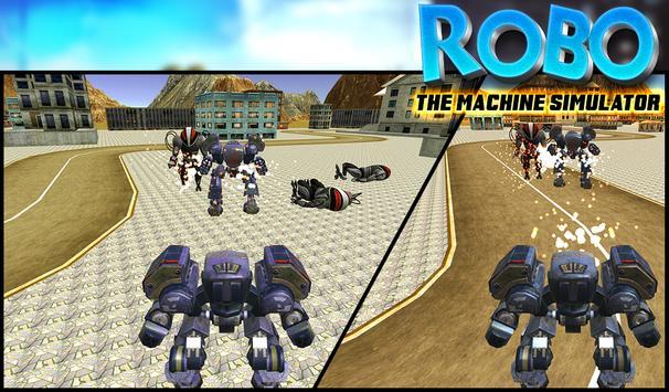 ROBO The Machine Simulator screenshot 1