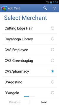 CardStar apk screenshot