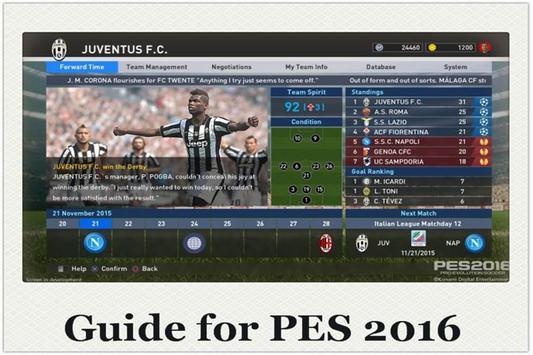 Unlock Hack for PES Guide 16 apk screenshot