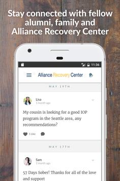 Alliance Recovery Center poster