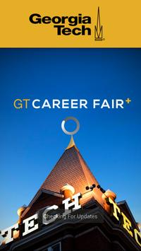 Georgia Tech Career Fair Plus poster