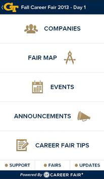 Georgia Tech Career Fair Plus apk screenshot