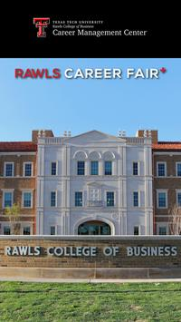 Rawls Career Fair Plus poster