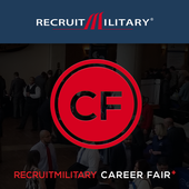RecruitMilitary Career Fair + icon