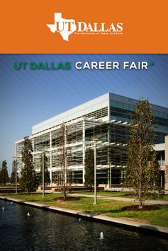 UT Dallas Career Fair Plus poster