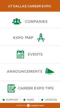 UT Dallas Career Fair Plus apk screenshot