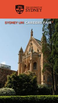 Sydney Uni Careers Fair Plus poster