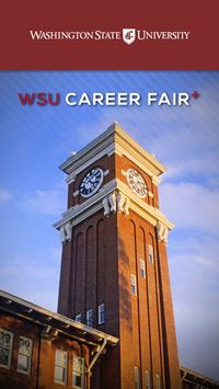 WSU Career Fair Plus poster