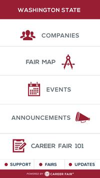 WSU Career Fair Plus apk screenshot