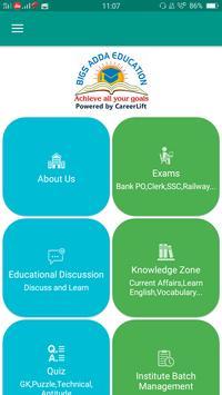 Bigs Adda Education poster