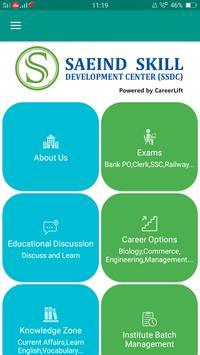 Saeind Skill Development Center poster