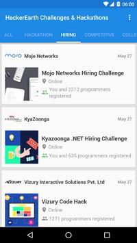 HackerEarth Challenges apk screenshot