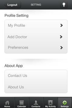 Caregivingapp RECIPIENT apk screenshot