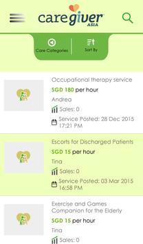 CaregiverAsia apk screenshot