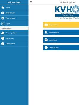 KVH Virtual Care screenshot 6