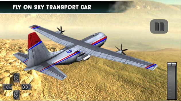 Cargo Plane Sim 3D poster