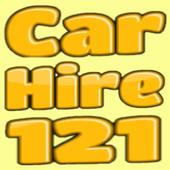 CAR HIRE 121 icon