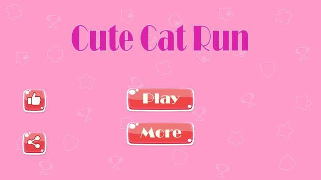 Cute Cat Run poster
