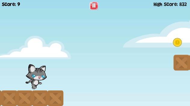 Cute Cat Run apk screenshot